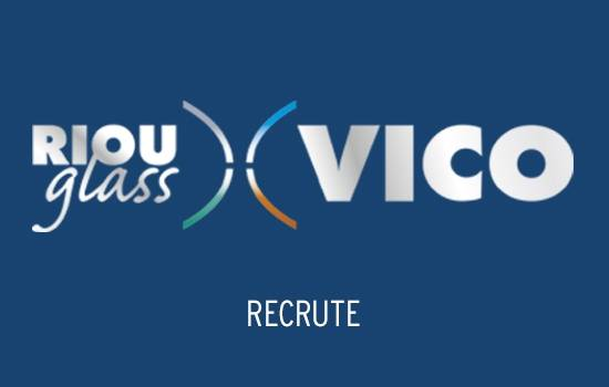 RIOU Glass VICO recrute un(e) commercial(e) sédentaire H/F