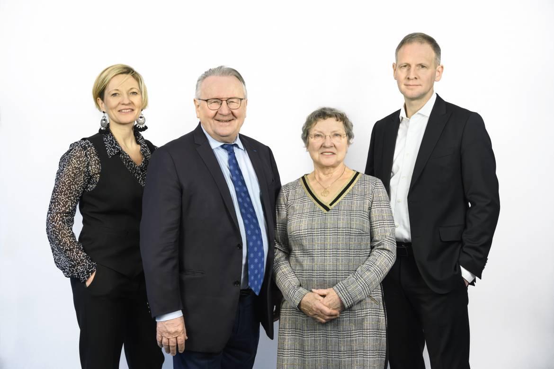 Christine Riou Feron, Pierre Riou, Christiane Riou, Nicolas Riou