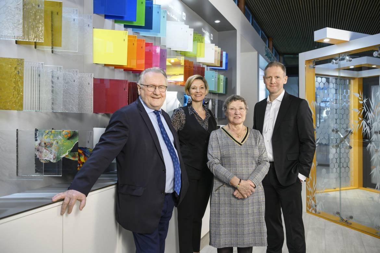 Pierre Riou, Christine Riou Feron, Christiane Riou, Nicolas Riou