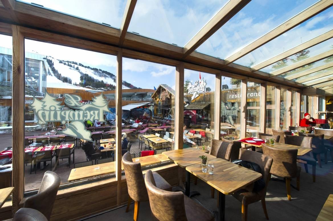 Restaurant Le Tremplin, Courchevel (73)