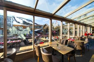 Restaurant Le Tremplin, Courchevel (73)