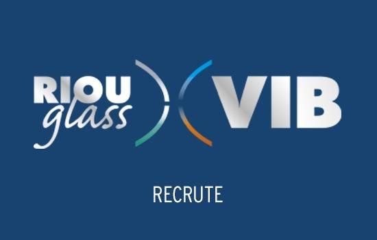 RIOU Glass VIB recrute un(e) commercial(e) sédentaire Aide à la Pose