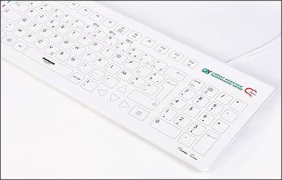 330 claviers pour les hôpitaux normands