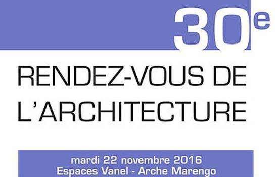 RIOU Glass aux 30ème Rendez-Vous de l'Architecture
